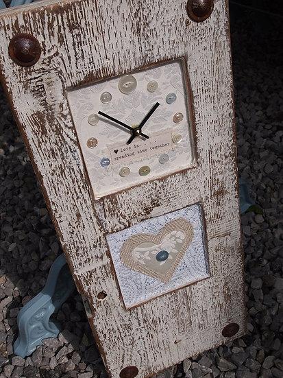 Wedding Heart Clock
