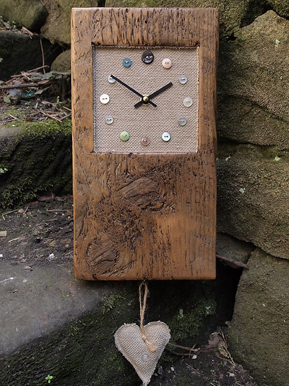 Original Button Clock