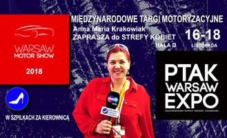 """Warsaw Motor Show """"STREFA KOBIET"""""""
