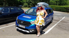 Dacia Lodgy wycieczka we Francji Cannes , Marsylia , La Seyne-sur-Mer