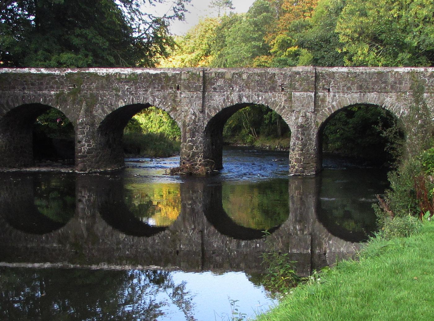 antrim garden bridge