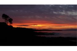 Sunset Over Belfast Lough