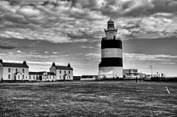 Hook Lighthouse-Aug15-BW