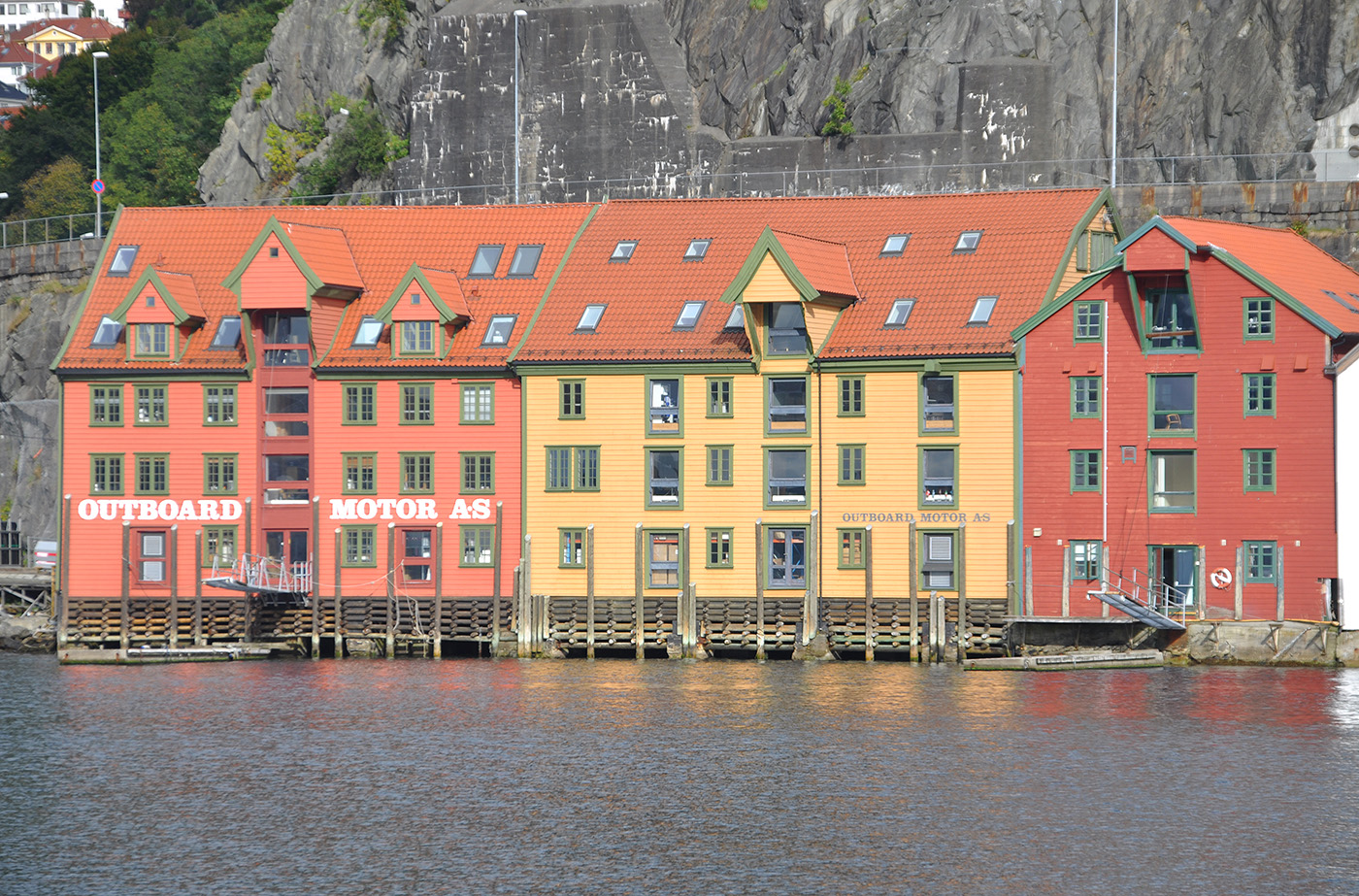 Waterfront at  Bergen