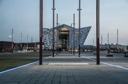 Titanic Building at Dusk, Belfast