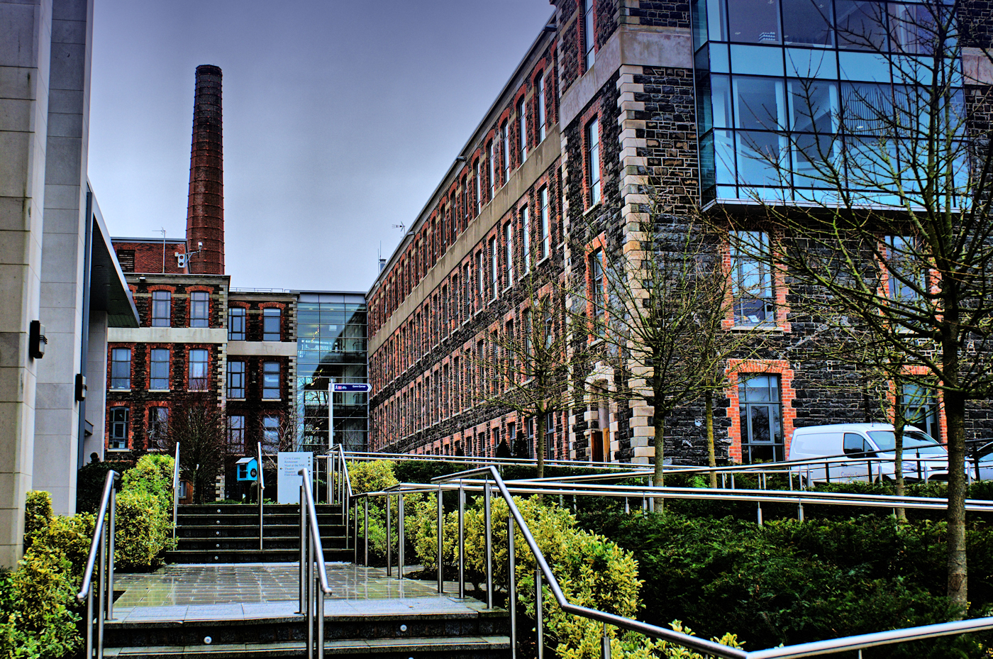 UK-NI-Co Antrim-Mossley Mill and  walkFe