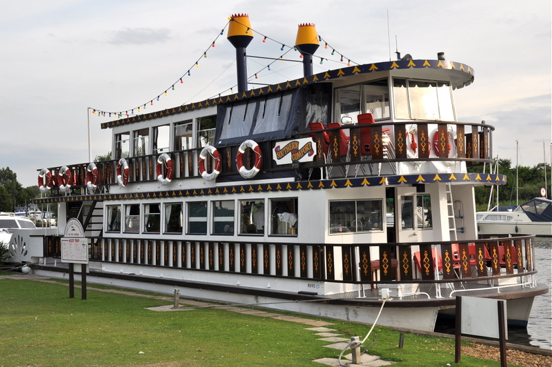 The Southern Comfort Paddle Steamer