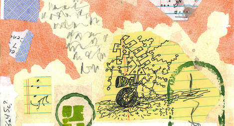 ASEMIC writing, drawing, mail collaboration, archive