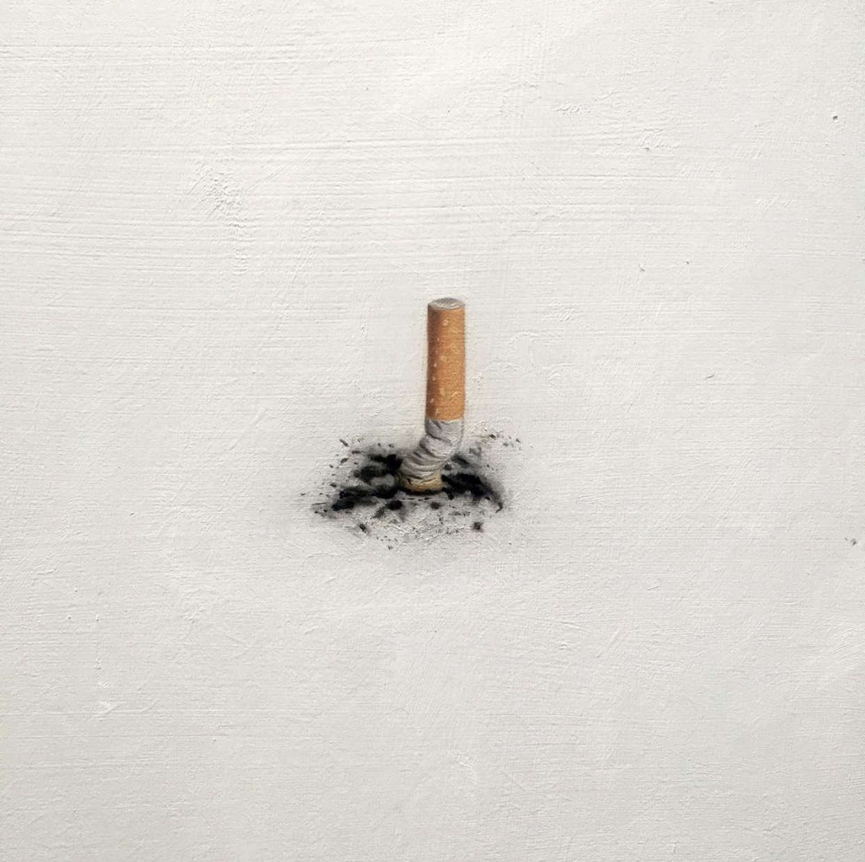 Callum Eaton - Another but. Oil on panel 30 x 30cm