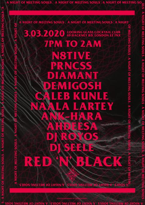RED N BLACK