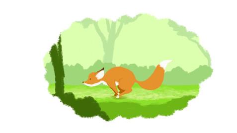 Running Fox