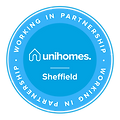 Uni Homes Partnership Badge - Sheffield-
