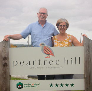 Ian & Avril welcome you to Peartree Hill