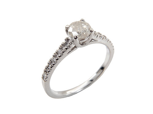 14ct White Gold Diamond Ring 0.60ct
