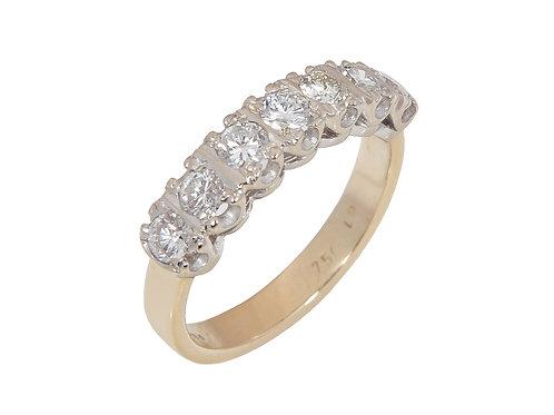 18ct Yellow Gold Diamond Eternity Ring 0.70ct