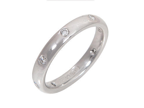 Platinum Diamond Full Eternity Ring 0.32ct