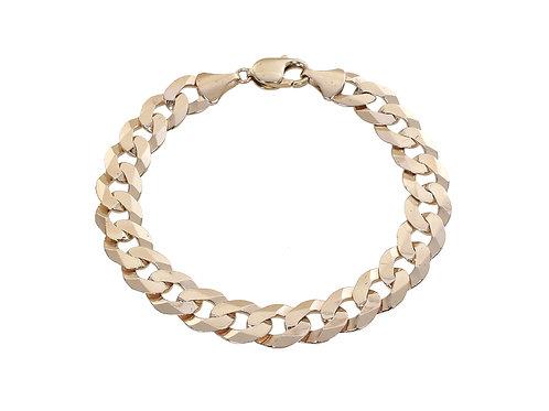 9ct Yellow Gold Curb Bracelet 23.2g