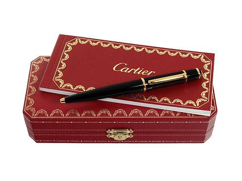 Cartier Black Diabolo Ballpoint Pen