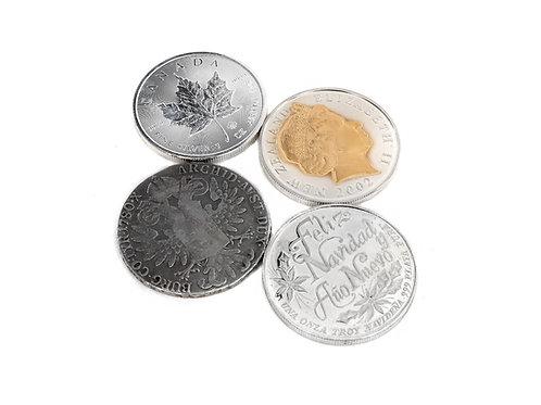 Silver Bullion, Coins, Bars & Ingots
