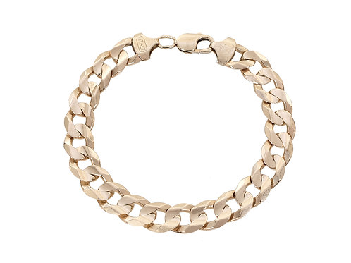 9ct Yellow Gold Curb Bracelet 38.5g