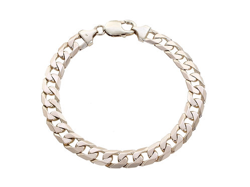 9ct Yellow Gold Curb Bracelet 29.6g