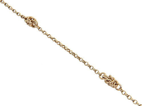 9ct Gold Fancy Link Chain 10.2g