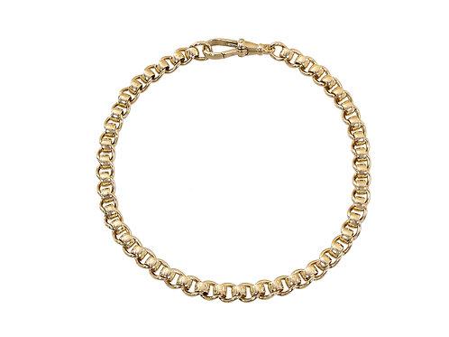 9ct Gold Rollerball Bracelet 15g