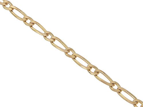 9ct Gold Figaro Chain 7.7g