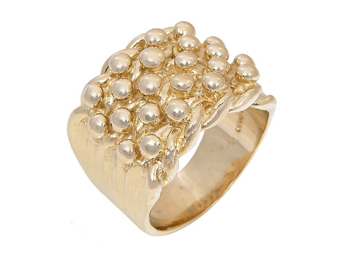 9ct Gold Keeper Ring 26g