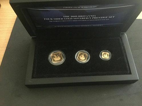2019 Britannia Four-Sided Gold Prestige Sovereign Proof Set