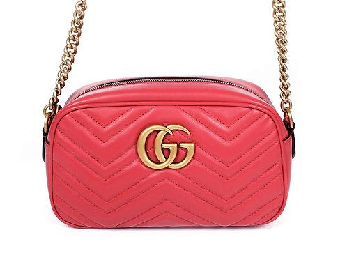 Gucci GG Marmont Small Matelasse Camera Shoulder Bag