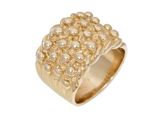 9ct Gold Keeper Ring 18.6g