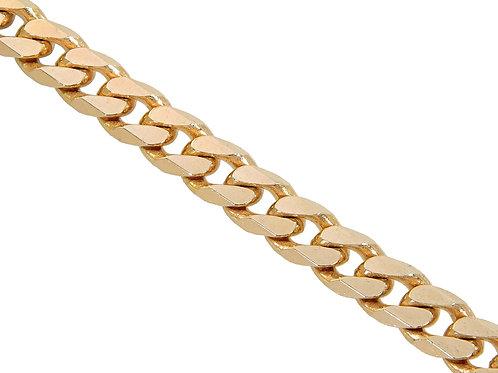 9ct Gold Curb Chain 52.2g