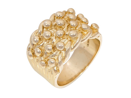 9ct Gold Keeper Ring 23g