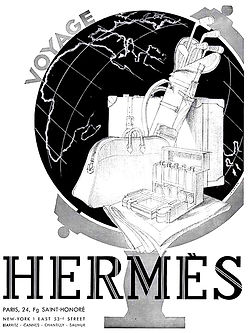 Hermes vintage poster