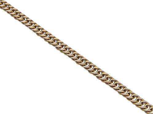 9ct Yellow Overlapping Link Chain 9.3g