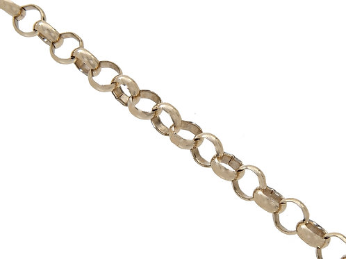 9ct Yellow Gold Plain Belcher Chain 16g