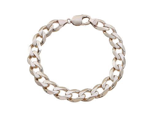 9ct Yellow Gold Curb Bracelet 35.5g