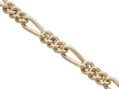 9ct Gold Figaro Chain 93.7g