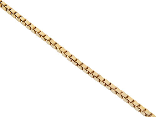9ct Gold Box Chain 10.8g
