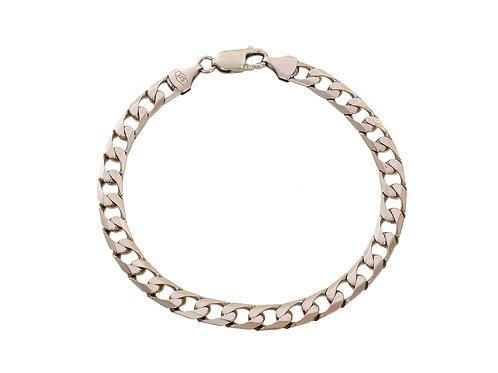 9ct Yellow Gold Curb Bracelet 11.9g