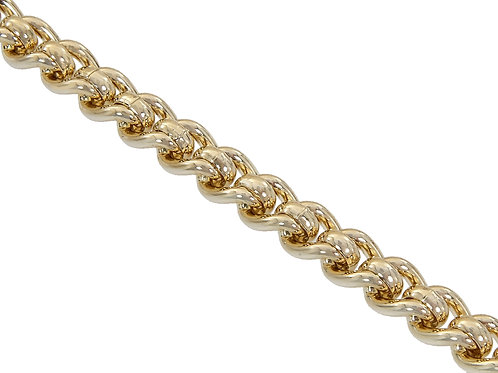 9ct Gold Rollerball Chain 65.8g