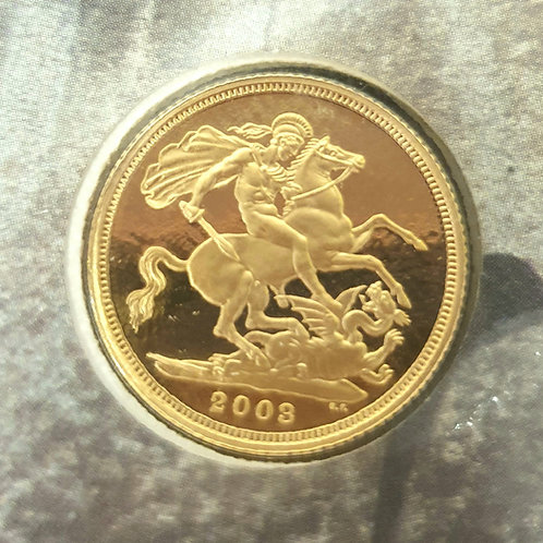 Full Gold Sovereign Dambusters Raid