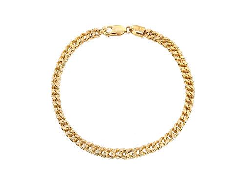 9ct Gold Franco Bracelet 8.3g
