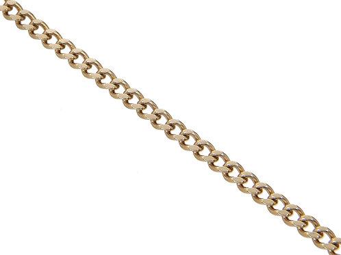 9ct Gold Curb Chain 7.5g