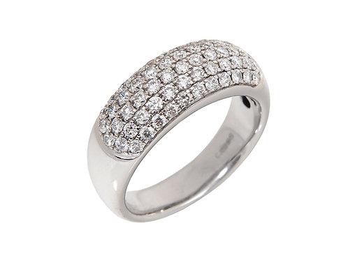 18ct White Gold Diamond Ring 1.00ct