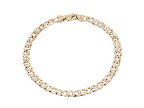 9ct Yellow Gold Curb Bracelet 10.2g