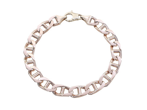 9ct Yellow Gold Anchor / Gucci Link Bracelet 37.1g