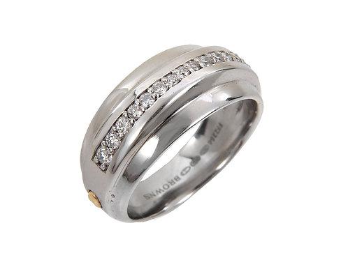 18ct White gold Diamond Ring 0.27ct