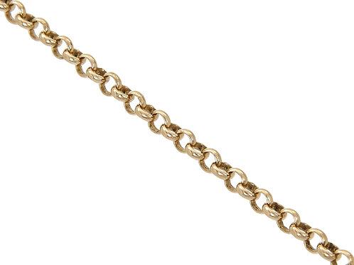 9ct Gold Belcher Chain 6.7g